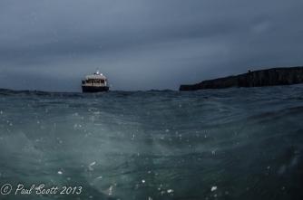 The Mako Dive boat
