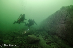Chris and Kim on Kentallen Reef