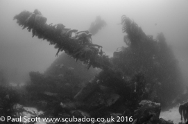 Bows of the Meldon Wreck
