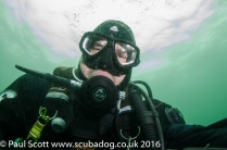 Paul Underwater Selfie